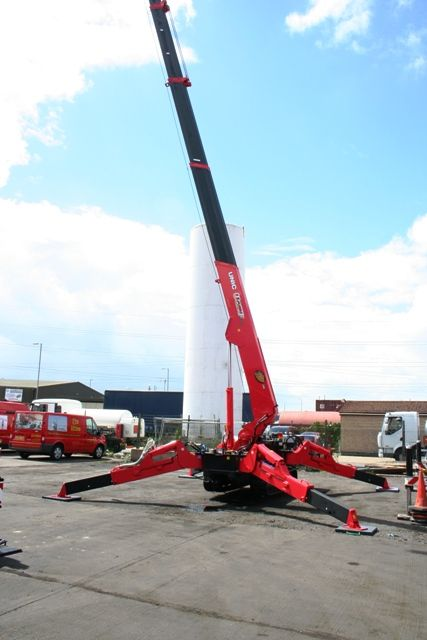 City Lifting has also taken delivery of the first Unic 706
