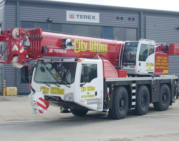 City Lifting's new Terex Challenger 3180