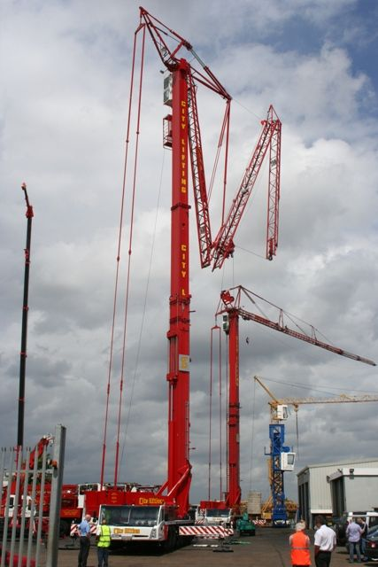 City Lifting's new seven axle Spierings crane