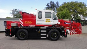 all terrain crane hire London