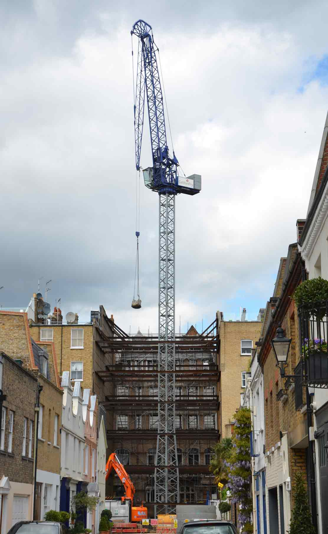 tower crane hire