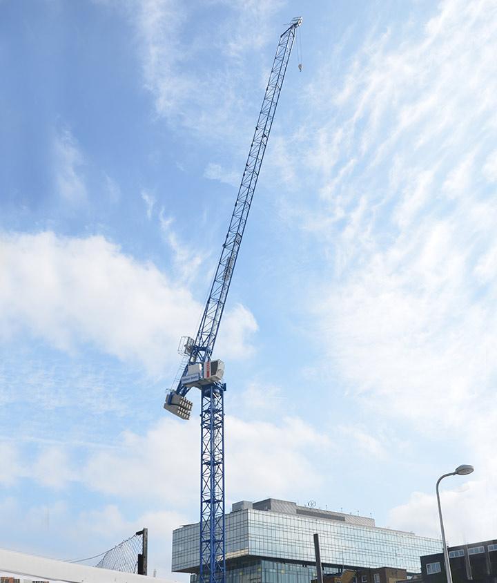 LUFFING JIB CRANE HIRE - City Lifting