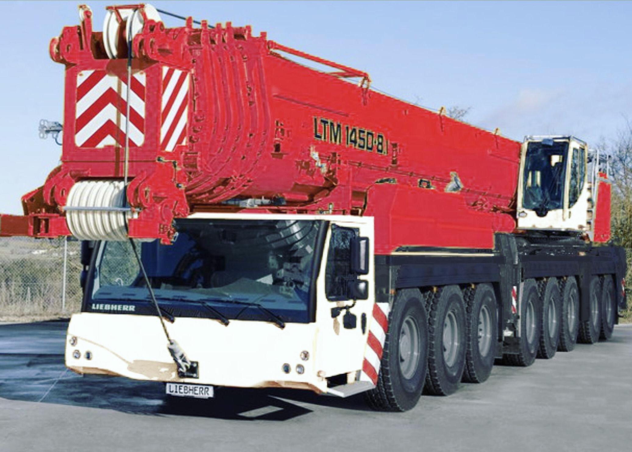City Lifting Welcomes the Liebherr LTM 1450 - Heavy Cranes